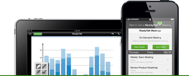 ReadyTalk's suite of mobile conferencing apps