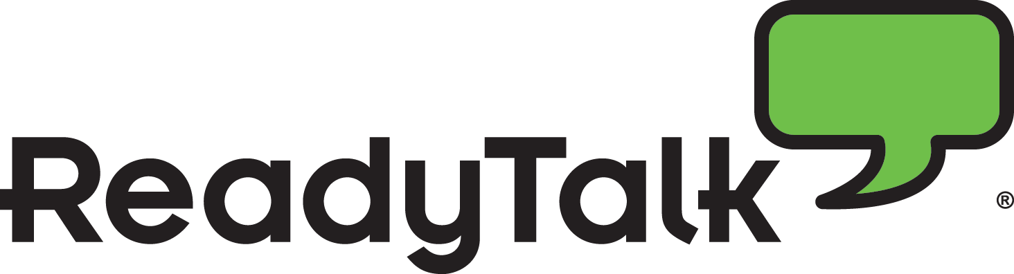 ReadyTalk Corporate Logo with Registered Trademark